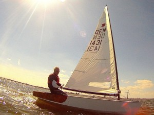 """Top tuned """"dashboard"""" in OK dinghy"""