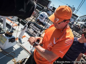 Volvo Ocean in-port racing in Lisbon