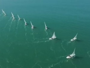 Tactical sailing in Dragon