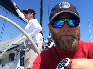 Training Farr40 in California
